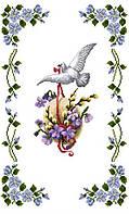 Заготовка для вишивки Великодній рушник, АТАЛАС, 33х53см