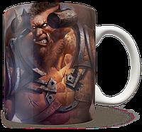 Чашка, Кружка Centaur Warrunner, Dota 2, #3 (Дота 2, два)
