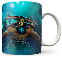 Чашка, Кружка Elder Titan, Dota 2, #1 (элдер титан, Дота 2, два)