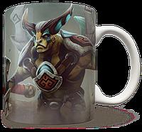 Чашка, Кружка Elder Titan, Dota 2, #2 (элдер титан, Дота 2, два)