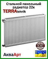 Стальной радиатор Terra teknik 22k 300*1000 боковое подключение