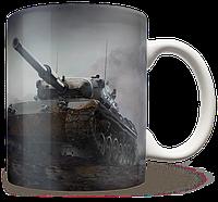Чашка, Кружка Leopard 1, WOT (леопард, Танки, танчики, WOT)