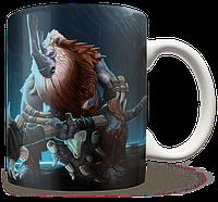 Чашка, Кружка Magnus, Dota 2, #1 (магнус, Дота 2, два)
