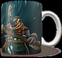 Чашка, Кружка Magnus, Dota 2, #2 (магнус, Дота 2, два)