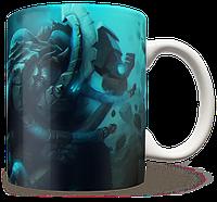 Чашка, Кружка Magnus, Dota 2, #3 (магнус, Дота 2, два)
