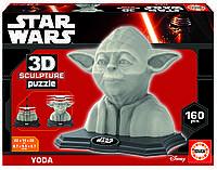 Пазл 3D Скульптура, Йода, 160 элементов, EDUCA