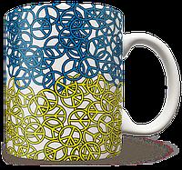 Чашка, Кружка Peace (Чашка с украинской символикой,)