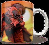 Чашка, Кружка Phantom Lancer, Dota 2, #1 (Фантом лансер, Дота 2, два)