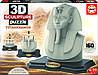 Пазл 3D Скульптура, Тутанхамон, 160 элементов, EDUCA