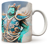 Чашка, Кружка Storm Spirit, Dota 2 (шторм спирит, Дота 2, два)