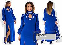 Женское вечернее платье батал 101.1 (040)