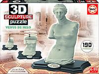 Пазл 3D Скульптура, Венера Милосская, 190 элементов, EDUCA