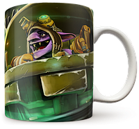 Чашка, Кружка TimberSaw, Dota 2, #1 (Дота 2, два)