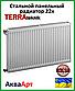 Сталевий радіатор Terra teknik 22k 300*2000 бокове підключення, фото 2