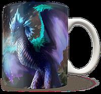 Чашка, Кружка Winter Wyvern, Dota 2 (винтер, Дота 2, два)