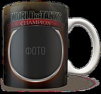 Чашка, Кружка World of Tank, Рамка, №1
