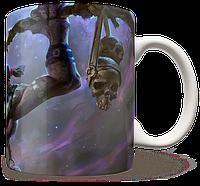 Чашка, Кружка Witch Doctor, Dota 2 (доктор, Дота 2, два)