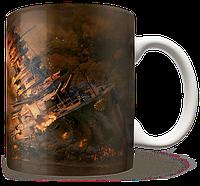 Чашка, Кружка World Of Warships, #6 (Варшипс, корабли, Игра)