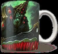 Чашка, Кружка Wraith King, Dota 2, #2 (кинг, Дота 2, два)