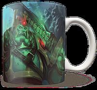 Чашка, Кружка Wraith King, Dota 2, #3 (кинг, Дота 2, два)