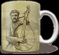 Чашка, Кружка Бандурист (Чашка с украинской символикой,)