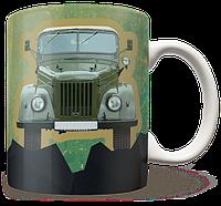 Чашка, Кружка Вездеход ГАЗ-69