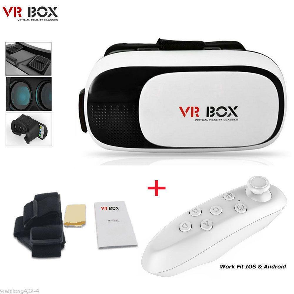 Очки виртуальной реальности VR BOX Version + джойстик
