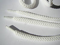 Шнурки для обуви 1,5 м, белые толстые,  диаметр 5 мм.