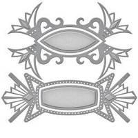 Набор ножей для вырубки от Spellbinders - Art Deco Tags (813233020277)
