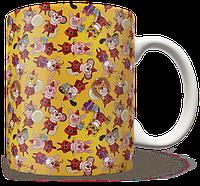 Чашка, Кружка Новогодний Принт