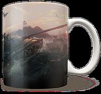 Чашка, Кружка Объект 430, WOT (Танки, танчики, WOT)