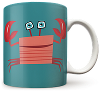Чашка, Кружка Рак, №2