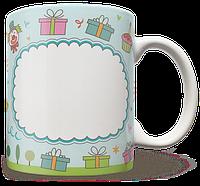 Чашка, Кружка С Днем Рождения, Рамка, №7