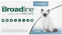 Broadline Spot On для кішок до 2,5 кг, 1 піпетка