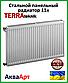 Стальной радиатор Terra teknik 11k 500*1100 боковое подключение, фото 2