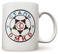 Чашка, Кружка Сталь Д, УПЛ (Футбол)