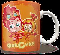 Чашка, Кружка Фиксики, №7