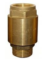 Насосы для воды+оборудование Aquatica Клапан обратный 1М*1F euro Aquatica (латунь)