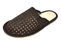 Тапочки мужские, кожаные, фото 1