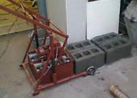Вибростанок МАРС для изготовления строительных блоков