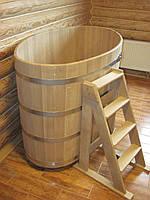 Купель дубовая для бани  800*1300*1000мм.