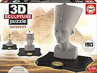 Пазл 3D Скульптура, Нефертити, 190 элементов, EDUCA