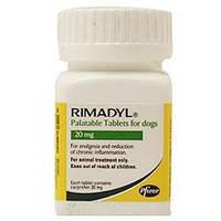 Римадил Р ( Rimadyl ) 20 мг,20таблеток