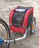 Прокат в Харькове/Трейлер для перевозки собак на велосипеде/велоприцеп