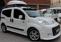 Peugeot Bipper 2008+ гг. Накладка на передний бампер V2 (под покраску)
