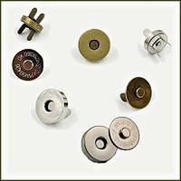 Кнопка магнит для сумок D18,5 мм