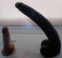 Фаллоимитатор Огромный Чёрный