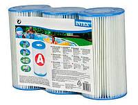 """Картридж INTEX 29000 (29003) (59900) ТИП """"А"""" для фильтр-насоса, 3шт"""