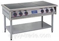 Профессиональная электрическая плита ПЭ-6 без духовки