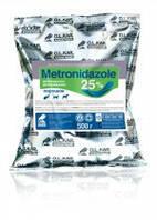 Метронидазол 25% порошок 500 г - синтетическое противомикробное и антипротозойное средство,